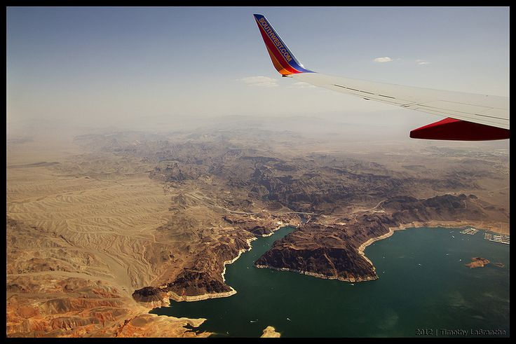 Lake Mead and Hoover Dam, Arizona, Nevada, USA