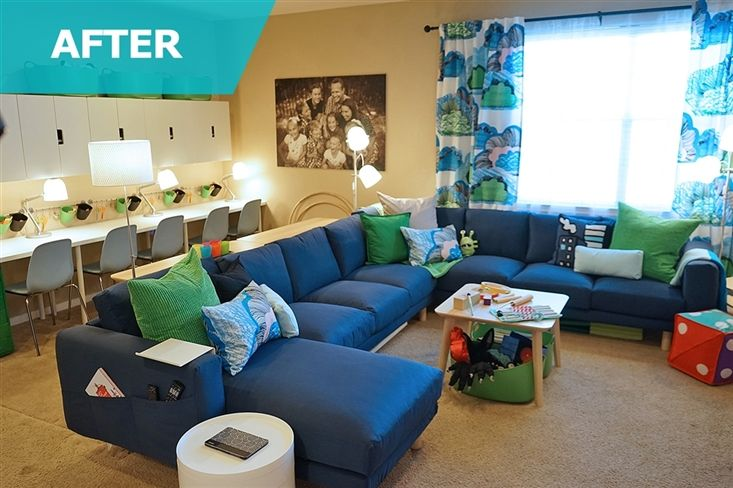 Ikea sectional - same shape I want in my living room.