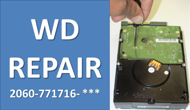 How to repair WD by swap PCB board: 2060-771716