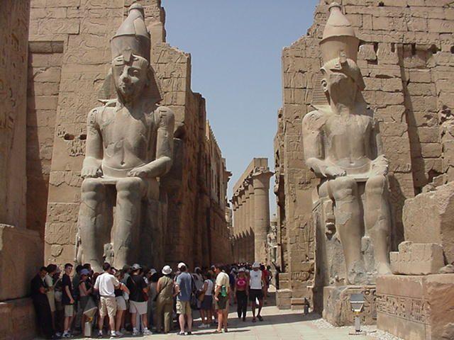 Tempio di Luxor, Offerte viaggi in Egitto http://www.italiano.maydoumtravel.com/Offerte-viaggi-Egitto/4/1/22