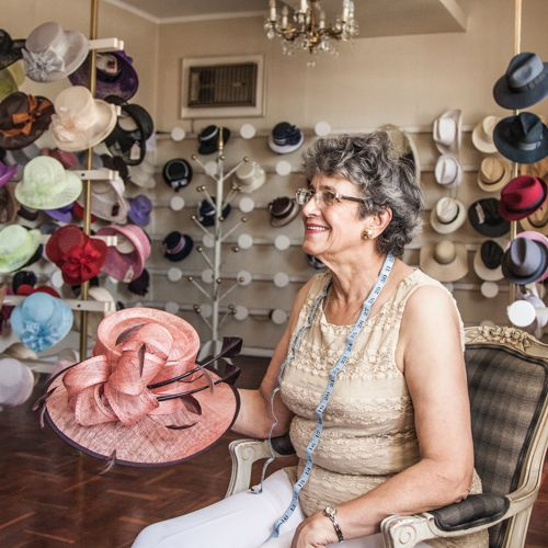 "If you need a hat... contact us at ""La Boutique""  Elaine 