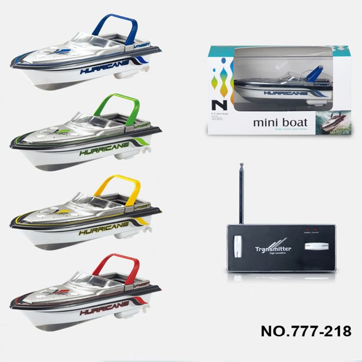 2016 New Kid Toy RC Boat Rechargable Type Radio Remote Control Super Mini Speed Boat Dual Motor 4 Color //Price: $24.96     #onlineshopping