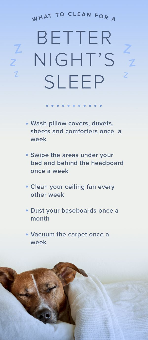 Simply cleaning these household items might just help you sleep better at night.