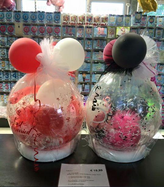 #Füllballons für jeden #Anlass auch in der Düsseldorfer Filiale in Flingern.Tolle Farbauswahl. Ideal in Verbindung mit #Geldgeschenken.