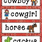 In this download you will find 16 Wild West themed vocabulary cards to use on your Word Wall!  Before use - print on cardstock and laminate!  Enjoy...