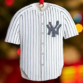 Major League Baseball Jersey Ornaments