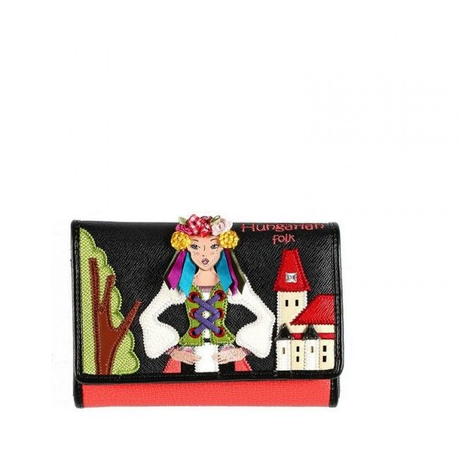 B9337 #wallets #portafogli #braccialini #fashion #leather