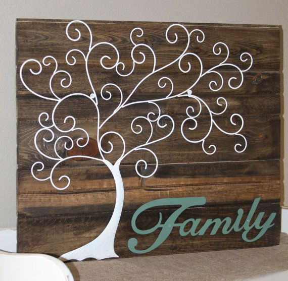 Hey, I found this really awesome Etsy listing at https://www.etsy.com/listing/172321741/rustic-style-family-tree-sign