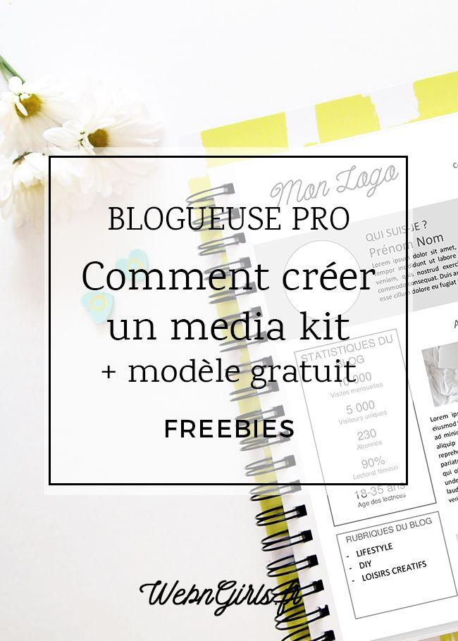 Comment créer un media kit pour son blog? | Web & Girls