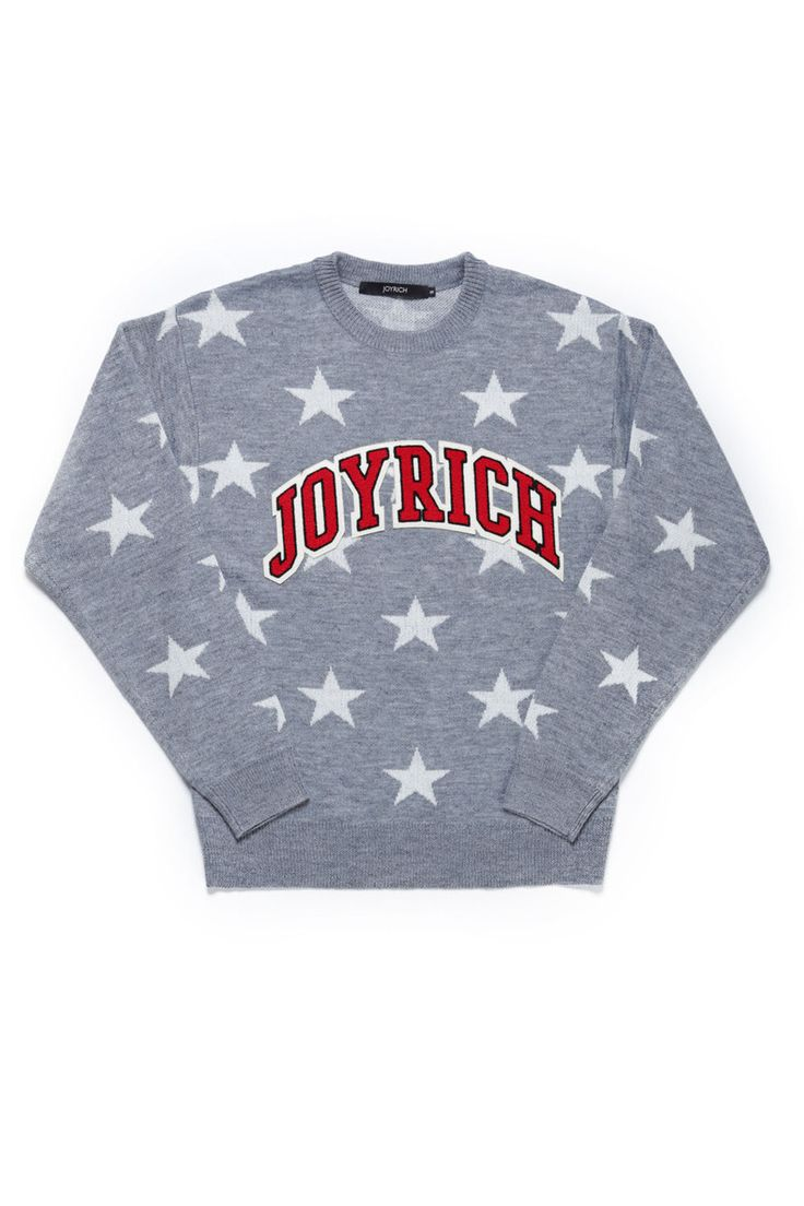 ALL STAR KNIT CREW / GRAY - JOYRICH Store