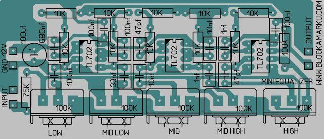 Cara Membuat Mini Equalizer Skema Dan Pcb Mini Equalizer Yang Kita Buat Kali Ini Saya Rasa Cukup Sederhana Dan Saya Yaki Equalizer Rangkaian Elektronik Pelukan