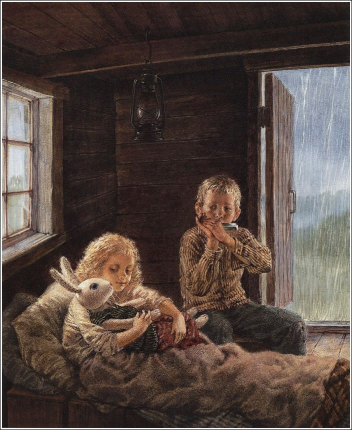 Kate DiCamillo. The Miraculous Journey of Edward Tulane.    Illustrator Bagram Ibatoulline, 2008.    http://book-graphics.blogspot.ru/2012/01/miraculous-journey-of-edward-tulane.html#more