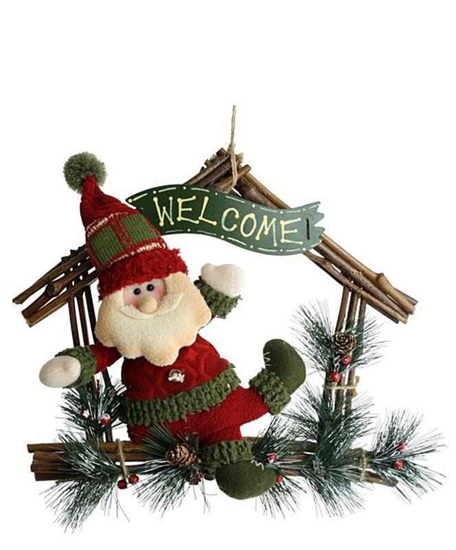 Guirlanda Casa Papai Noel