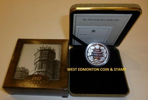 1911-2001 PROOF COMMEMORATIVE SILVER DOLLAR  #CanadianMint #Canadian #Mint $99.95