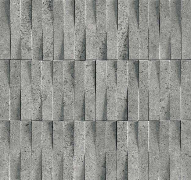 Chicago Storm 3D Brick Porcelain Mosaic Tiles | Mandarin Stone