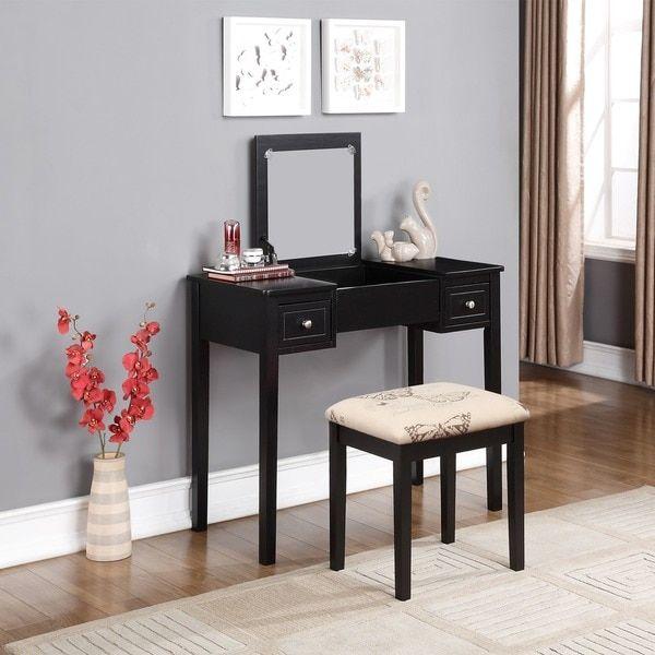 Black Bedroom Vanity Set Bedroom Design Red And Black Bedroom Arrangement Ideas Pictures Young Mans Bedroom Furniture: Best 25+ Black Vanity Table Ideas On Pinterest
