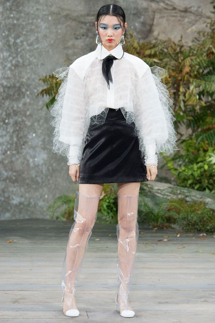 Défilé #Chanel Printemps-été 2018
