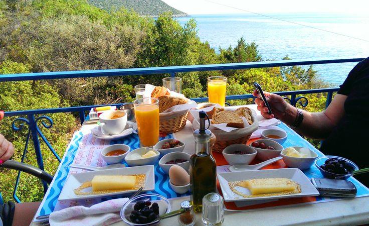 Traditional Tsakonian Breakfast