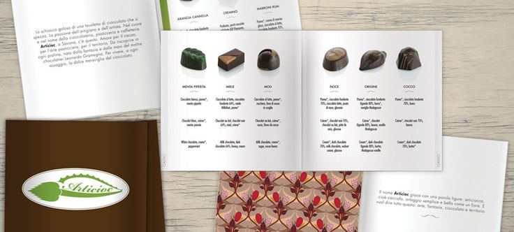 #xeniaideas Catalogo di cioccolatini Articioc. Foto e grafica: Laura Guida