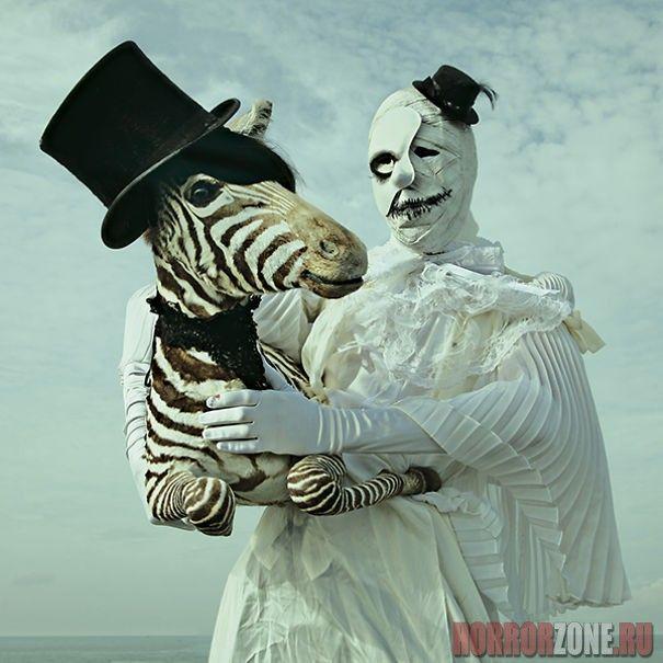 Таксидермия плюс сюрреализм - жуткие фотографии (21 ФОТО)