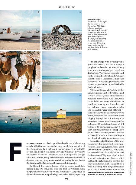 Condé Nast Traveler Redesign - ligaturenyc.com #layout