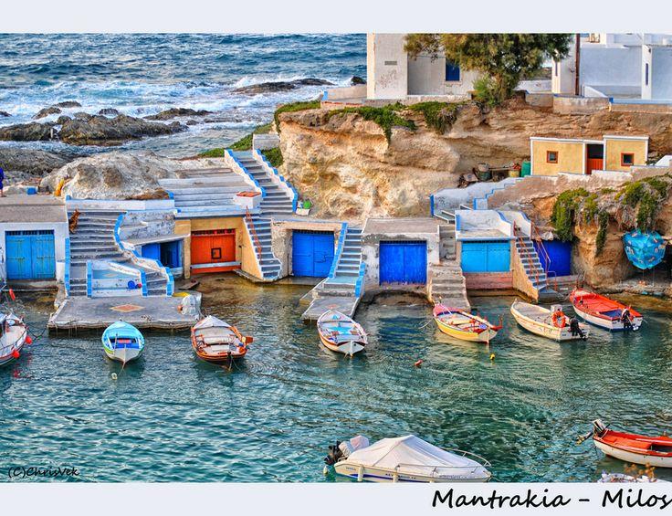 Mantrakia-Milos by Chris Vekris on 500px