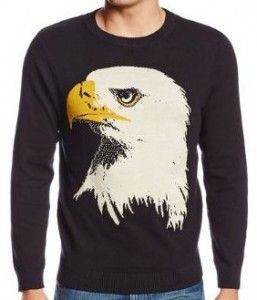 Bald Eagle Head Sweater  9f903c708