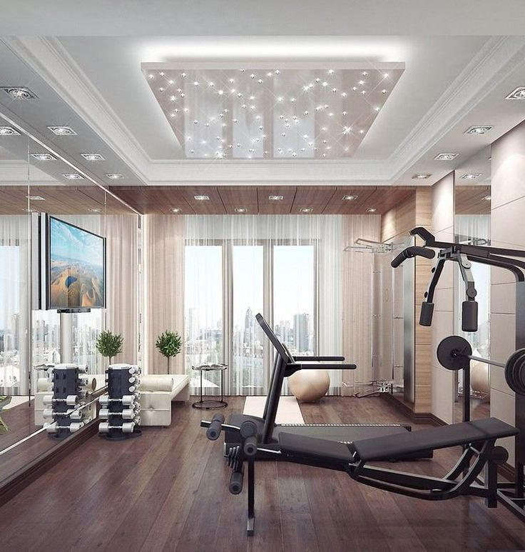 die besten 25 fitnessraum ideen auf pinterest keller. Black Bedroom Furniture Sets. Home Design Ideas