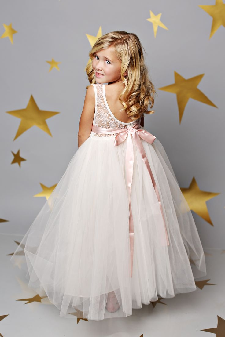 Top 25 best blush flower girl dresses ideas on pinterest flower just the sweetest flower girl dresses ever by fattiepie right now save 15 ombrellifo Images