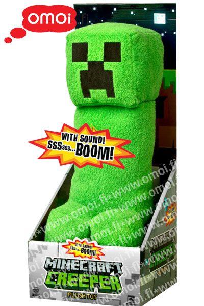 Minecraft Creeper plush with sound - 30,00EUR : Manga Shop for Europe, A great selection of anime products