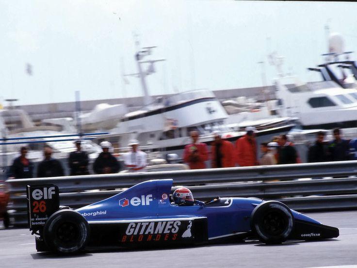 Erik Comas (Monaco 1991) by F1-history.deviantart.com on @deviantART