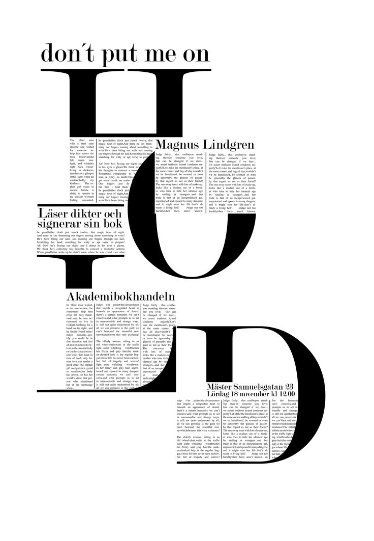 FONTS IN USE BY FASHION MAGAZINES  Moshik Nadav Fashion