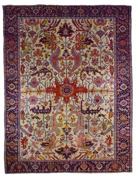 Persian Heriy rug, 1900