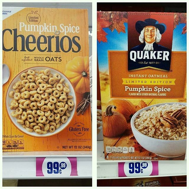 Cheerios and Quaker #NameBrands at the #99!
