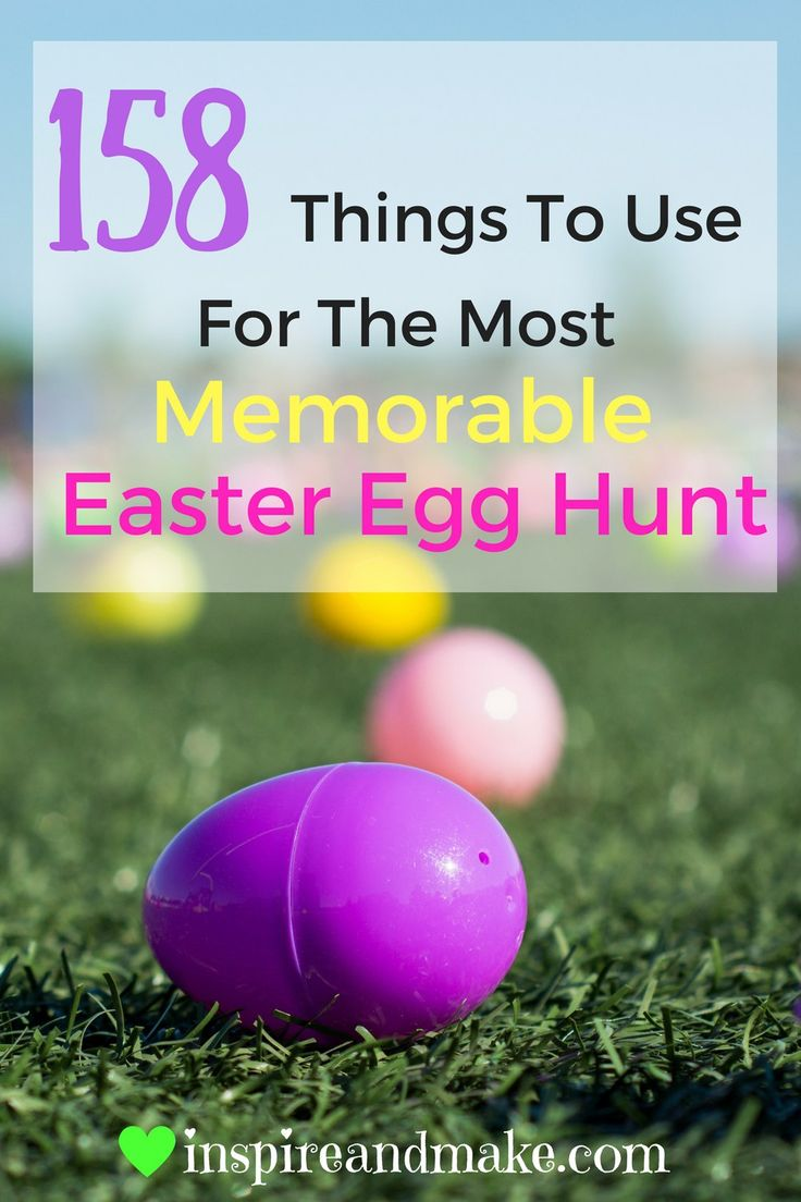 103 best easter gift ideas crafts etc images on pinterest 158 things to use for the most memorable easter egg hunt negle Image collections