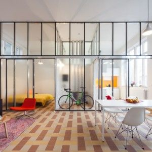 Lieven+Dejaeghere+creates+affordable+apartments+inside+the+classrooms+of+an+old+Belgian+school