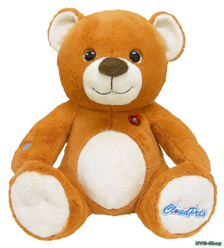 Talking Teddy Bear The Huggable Pet Recording Stuffed Animal CloudPets Toy Game #CloudPets