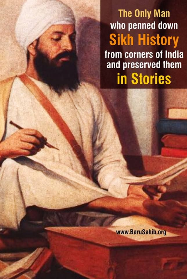 #DidYouKNow  The Legend Bhai Santokh Singh Ji, the only man who penned down Sikh History from corners of India and preserved the stories we know now.  Share & Spread!
