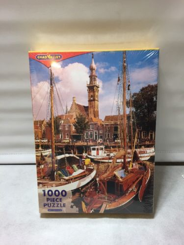 CHAD VALLEY Harbour 1000 PIECE JIGSAW PUZZLE NEW SEALED in Toys & Games, Jigsaws & Puzzles, Jigsaws | eBay