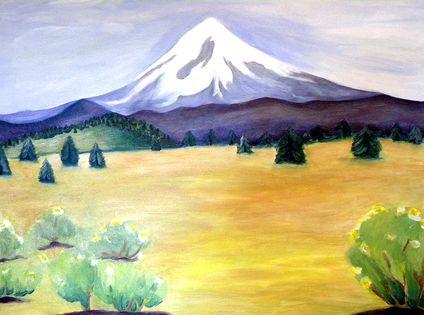Mount Hood View, 2009 by Deborah Eve Alastra