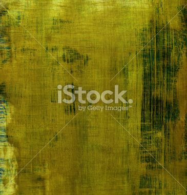 Dirty Yellow Distressed Background Royalty Free Stock Photo
