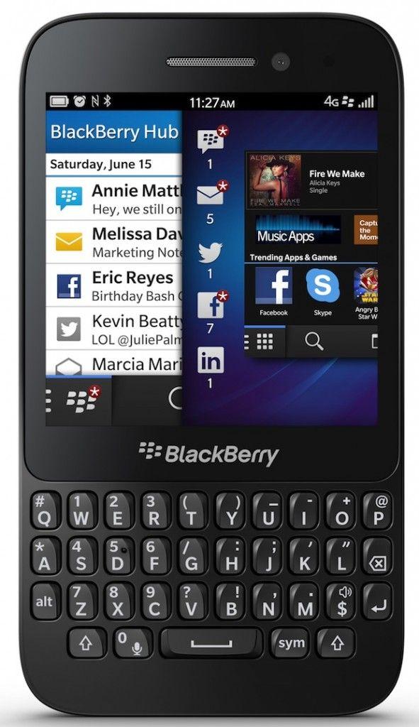 Win a BlackBerry Q5 Smartphone!