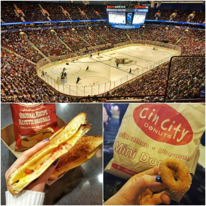 Went from caviar to grilled cheese and donuts in 24hrs. #wineanddine #downanddirty #Vancouver #Canucks #GoCanucksGo