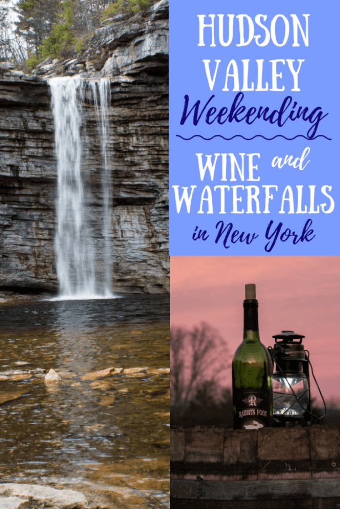 A little road trip in the Hudson Valley, complete with waterfalls, a gorgeous lake, local wine, and your own private camping retreat. Check out Minnewaska State Park and Robibero Winery in New Paltz, New York.
