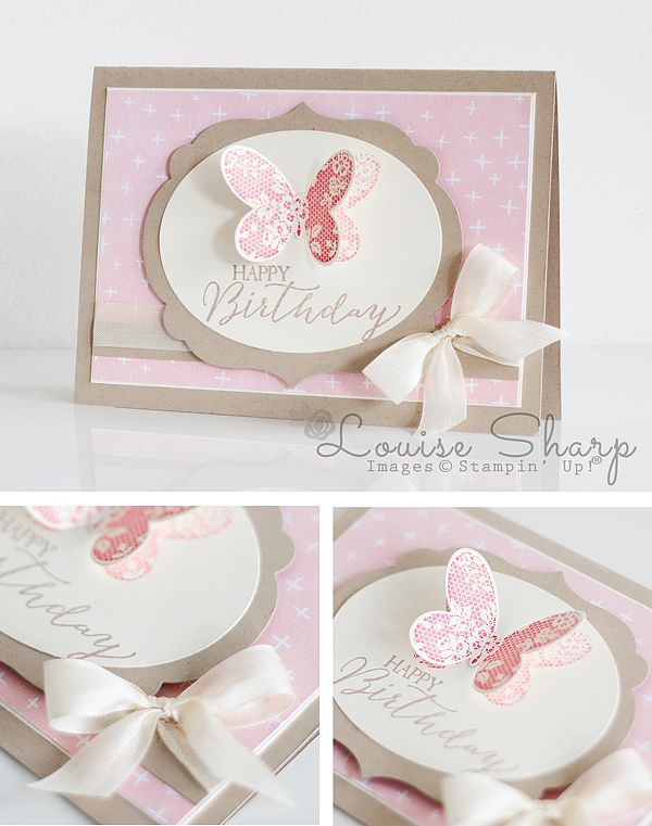 Stampin' Up! | INKspired Blog Hop | Butterfly Basics | By Louise Sharp