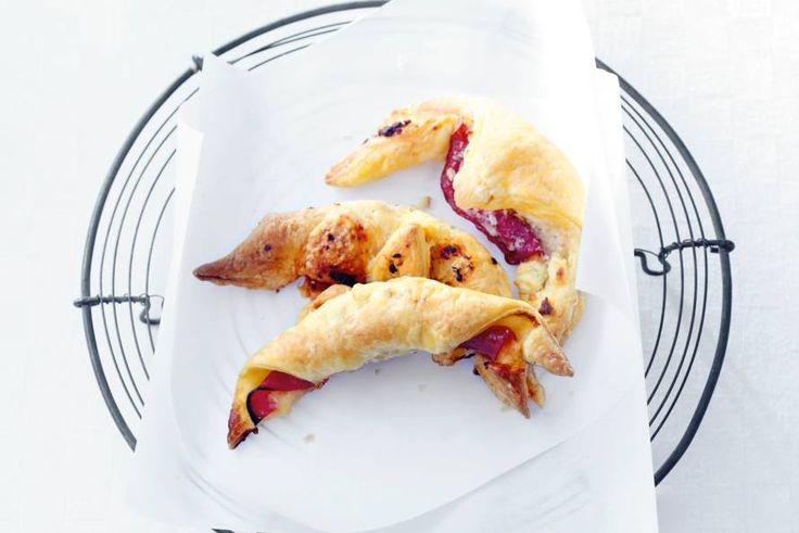 Knapperige croissants! Maar liefst 4 verschillende soorten in 1 recept! Crunchy croissants - Recept - Allerhande