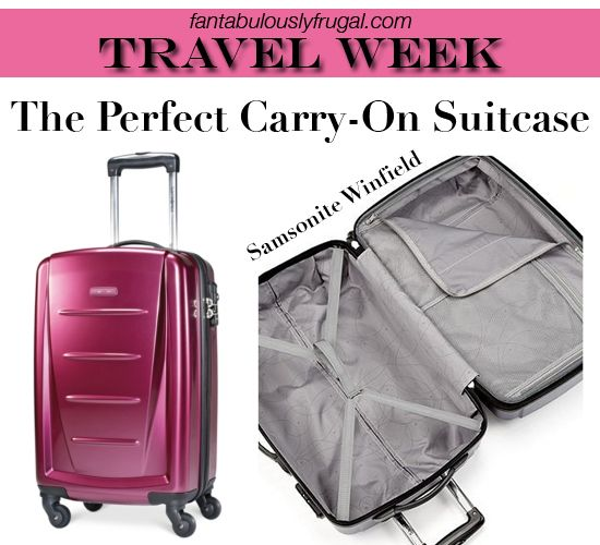 Travel Week: The Perfect Carry-On Suitcase | Shop Girl Daily