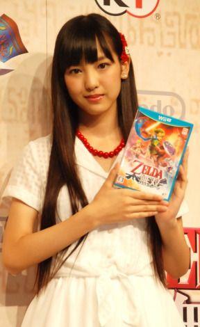 Morning Musume star Ikubo Haruna is Lana's voice in Zelda: Hyrule Warriors | #WiiU #MorningMusume