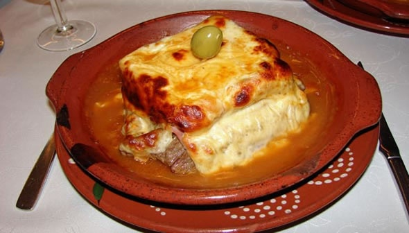 Best in the world. Francesinha  / Francesinha in Oporto/ #Portugal