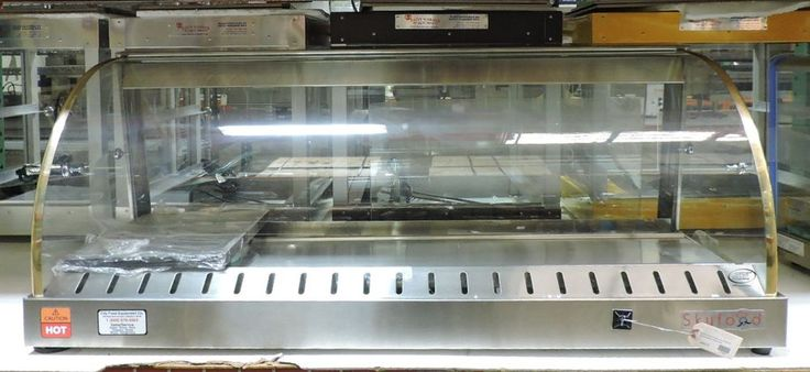 "Skyfood FWD2-43 Commercial 43"" Food Warmer Display Case #Skyfood"
